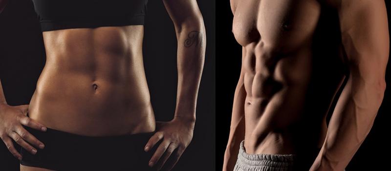 kosi trbušni mišići